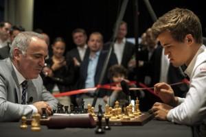 Kasparov, Carlsen Meet in New York