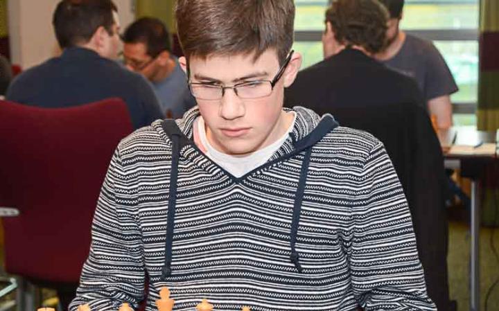 England junior Matthew Wadsworth achieved his first IM result