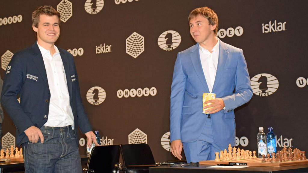Carlsen and Karjakin
