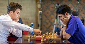 Carlsen,Magnus - Nakamura,Hikaru