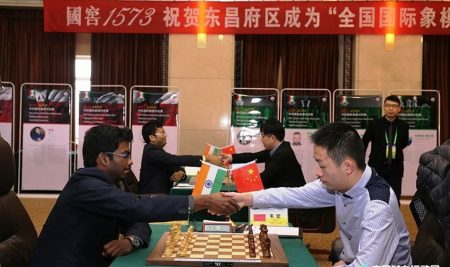 China have beaten India 10:6