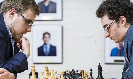 US chess Championship round 7: Zherebukh stuns Caruana