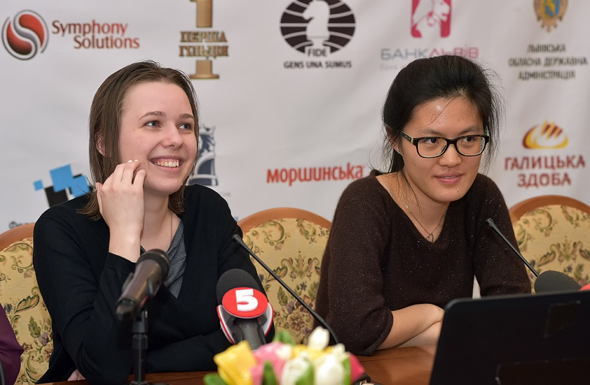 Mariya Muzychuk vs. Hou Yifan