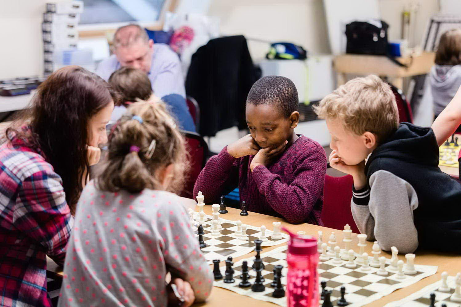 Chess Rising Stars London Academy lesson