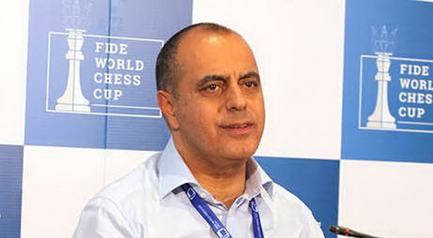 Mahir Mammadov, the director of the operations committee for the World Cup and the Chess Olympiad
