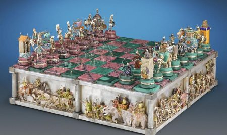 Chess set on sale for $1.65 million