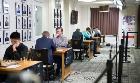 U.S. Chess Championship starts with wins from So & Nakamura