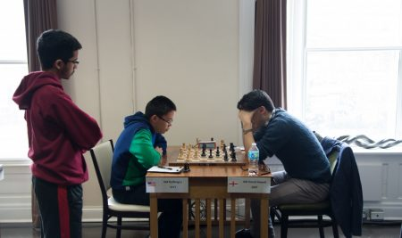 David Howell is the winner of the Winter Chess Classic