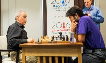 """Kasparov """"officially"""" back as St. Louis wildcard"""