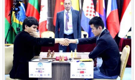Tbilisi World Cup Semifinal 2: Ding Liren got revenge