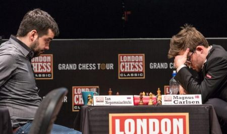 Ian Nepomniachtchi scored a triumph in the London Chess Classic