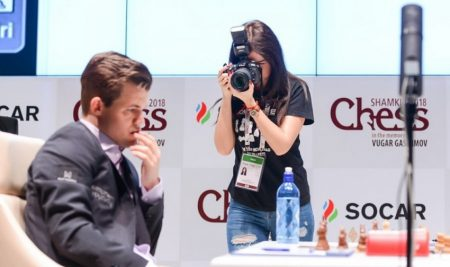 Topalov and Carlsen strike at Shamkir Chess