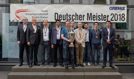 The 2017/2018 Chess Bundesliga season