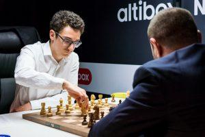 caruana-mamedyarov Altibox Norway Chess 2018