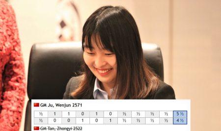 Ju Wenjun is the 17th Women's World Champion
