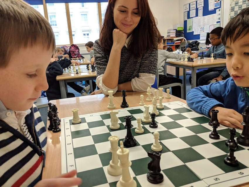 chess camp London by Manelidou