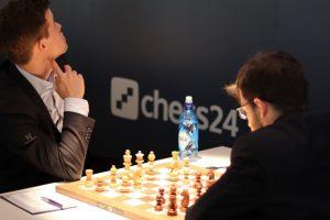 When Magnus saw Caruana-Aronian
