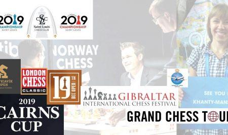2019 Chess Calendar