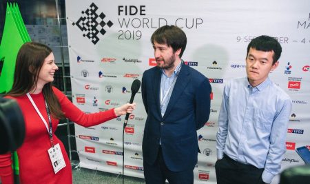 For the FIDE World Cup title and $110,000 top prize