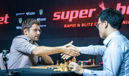 Levon Aronian has won the inaugural Superbet Rapid & Blitz