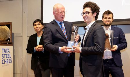 Fabiano Caruana won the 2020 Tata Steel Chess Masters
