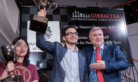Paravyan & Tan Zhongyi win 2020 Gibraltar Masters