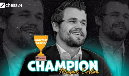 Magnus Carlsen won Banter Series after starting 1.f3, 2.Kf2