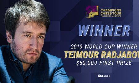 Radjabov beats Aronian to win Airthings Masters